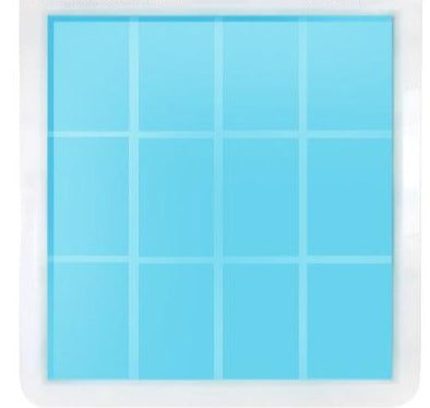 Rectangle Silicone Soap Tray Mold - Crafter's Choice 1701