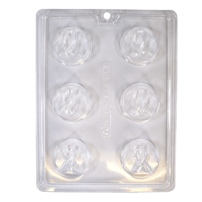Awareness Ribbon Soap Mold