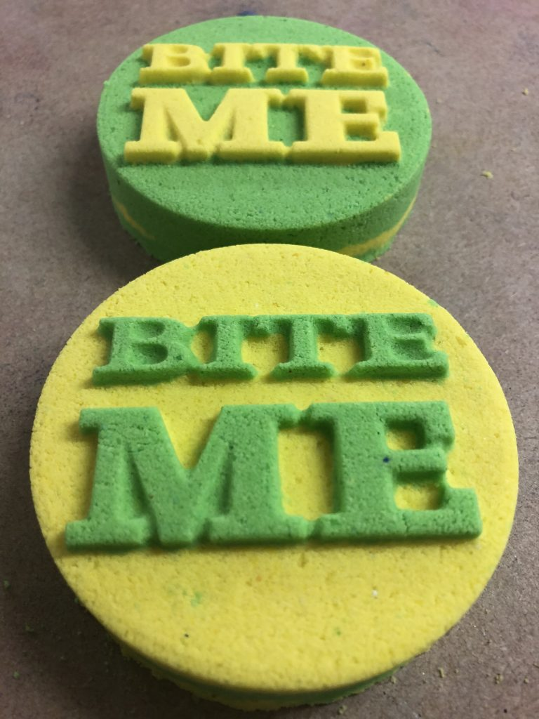 Bite Me Bath Bomb Mold