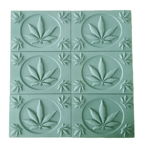 Marijuana Leaf Soap Mold