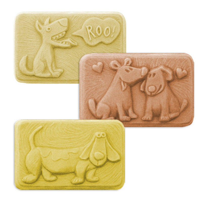 Fun Dog Shaped Soap Mold