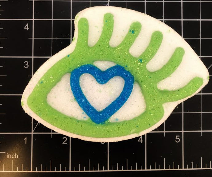 Eye Love Bath Bomb Mold