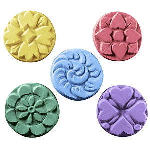 Flower Soap Mold - MW45 Guest Size Flower Mold