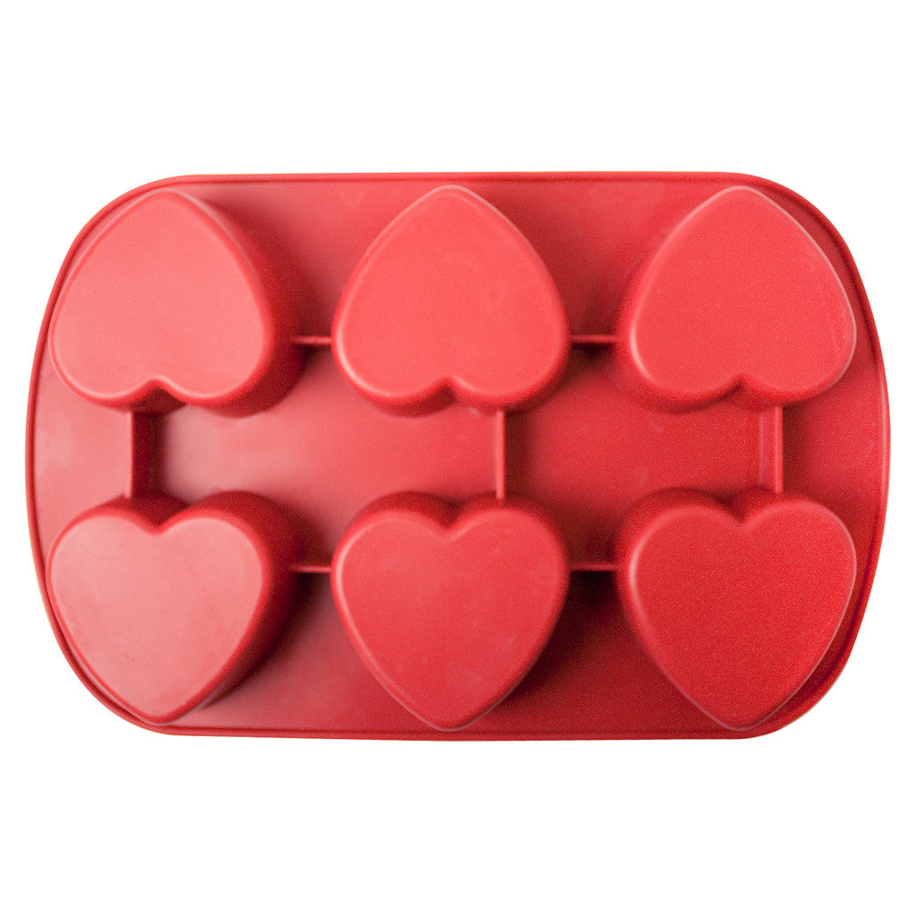 Silicone Mold Heart Shaped Mold For Soap Making