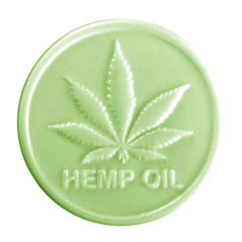 Hemp Oil Mold for Soap Making - CBD Cannabis Plastic Mold