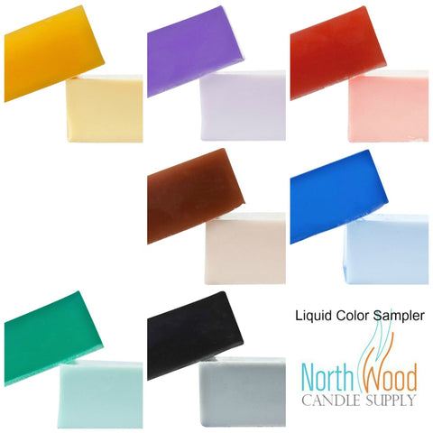 Liquid Color Sample Set - Matte Liquid Color for Soap & Cosmetics