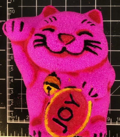 Lucky Cat Bath Bomb Mold