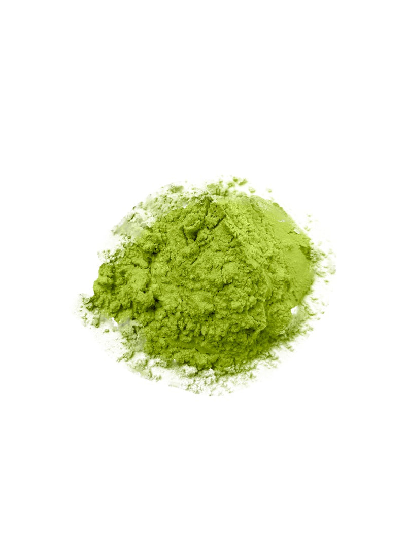 Green Yellow Shimmer Mica Powder