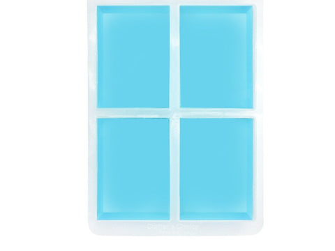 Rectangle Silicone Soap Mold - Crafter's Choice 1601
