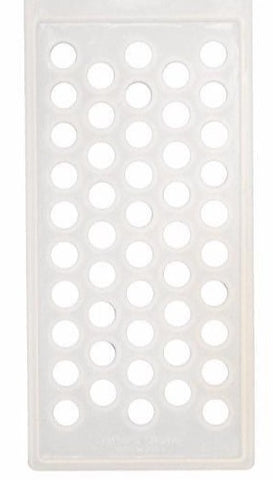Lip Balm Tube Filling Tray - Round Silicone - Crafter's Choice 3001