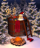 Santa's Hot Tub Candle Fragrance Oil