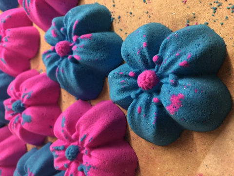Small Flowers Bath Bomb Mold