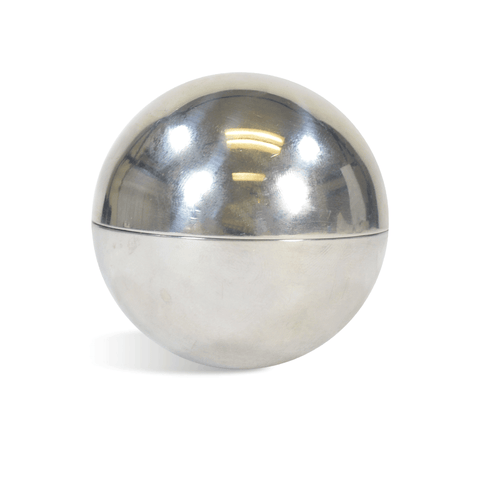 "Round 3"" Stainless Steel Sphere Mold"