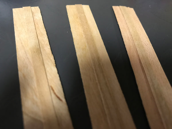 Wood Wicks for Candle Making - NorthWood Candle