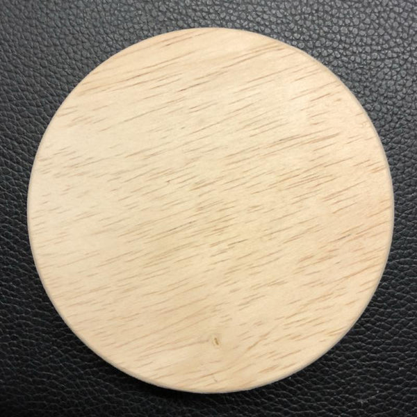 Wood Candle Jar Lid