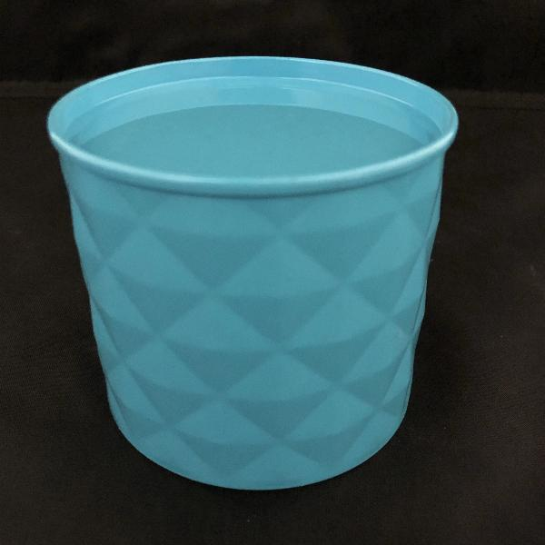 Blue Candle Tin