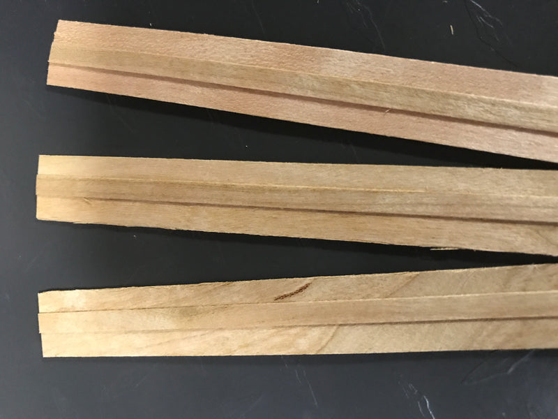 NorthWood Wood Candle Wicks with Booster Strip - Professional Quality Wood Candle Wicks