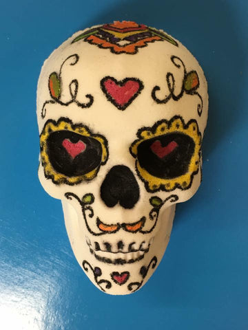 Skeleton Skull Bath Bomb Mold