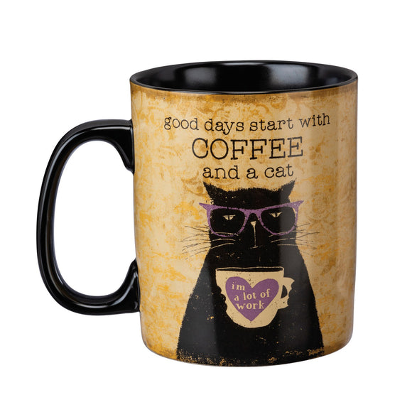 Good Days Cat Mug