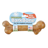 BarkBone Dinosaur Dog Chew Toy - Bacon