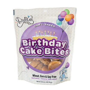Mutt Mallows Birthday Cake Bites