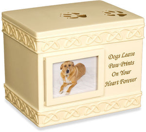 Paw Prints Keepsake Urn