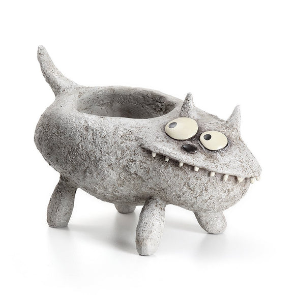 Fluffy Cat Planter