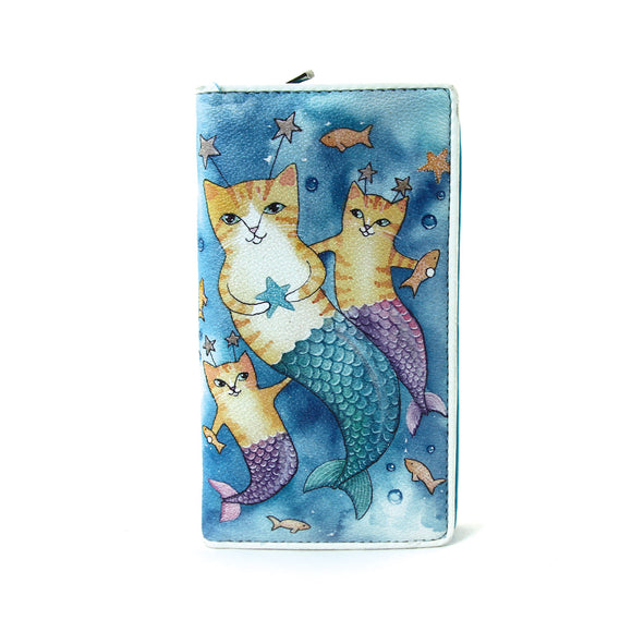 Cat Mermaid Wallet
