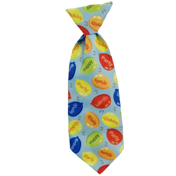 Birthday Tie Blue