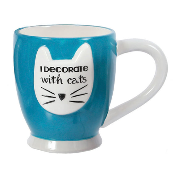 Mug | I Decorate with Cats