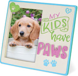 """My Kids Have Paws"" Picture Frame"