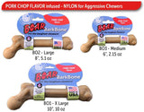 BarkBone Boar Dog Chew Toy - Pork Chop