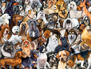 Dog Collage Puzzle