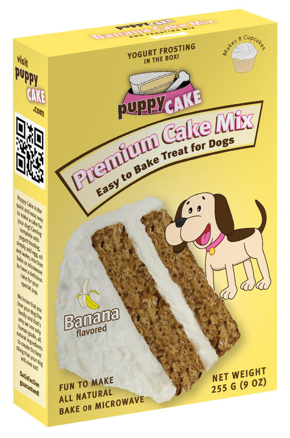 Wheat-free Banana Dog Cake Mix