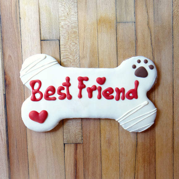 Frosted Best Friend Dog Treat