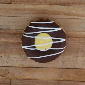 Boston Creme Granola Donut