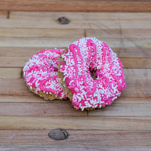 Breast Cancer Awareness Granola Donut