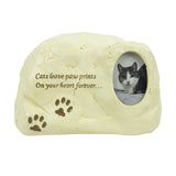 Cat Keepsake Rock Urn