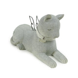 Faithful Angel Cat Statuary