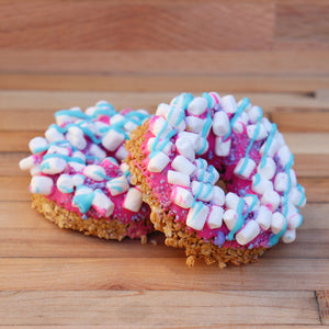 Cotton Candy Granola Donut