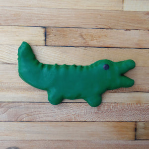 Frosted Crocodile Dog Treat