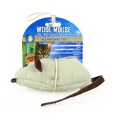 Natural Wool Mouse