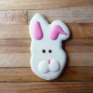 Frosted Rabbit Head Dog Treat