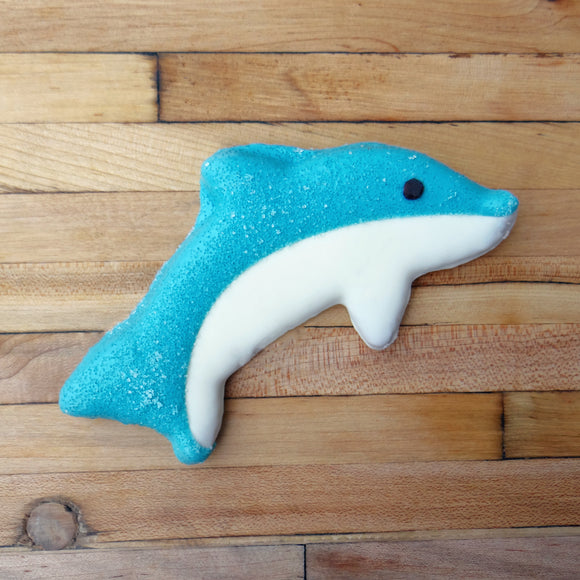 Frosted Dolphin Dog Treat