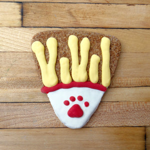 Frosted French Fry Dog Treat