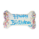 Frosted Happy Birthday Dog Treat