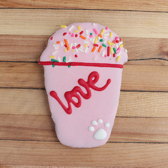 Frosted Love Shake Dog Treat