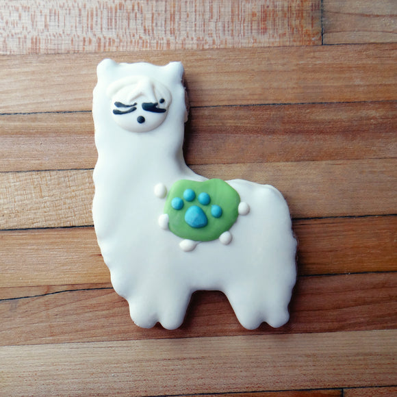 Frosted Lama Dog Treat
