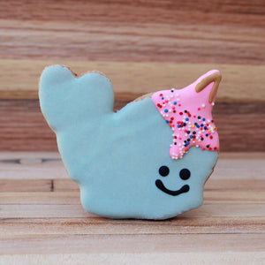 Frosted Narwhal Dog Treat