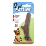 Antler Dog Chew Toy - Peanut Butter